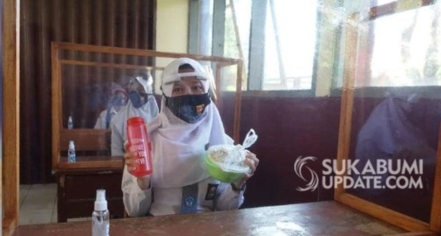 28 SMA dan SMK di Kota Sukabumi Mulai Uji Coba Pembelajaran Tatap Muka (77777)
