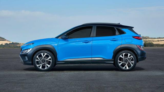 Hyundai Kona Facelift Mengaspal, Usung Teknologi Mild Hybrid (26694)