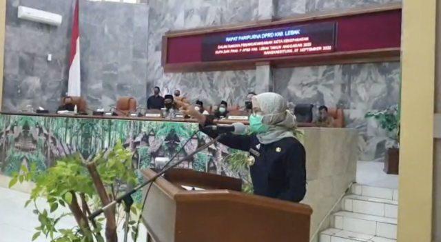 Bupati Lebak Ngamuk di Paripurna Disinggung Meninggalnya Ketua DPRD Lebak (142900)