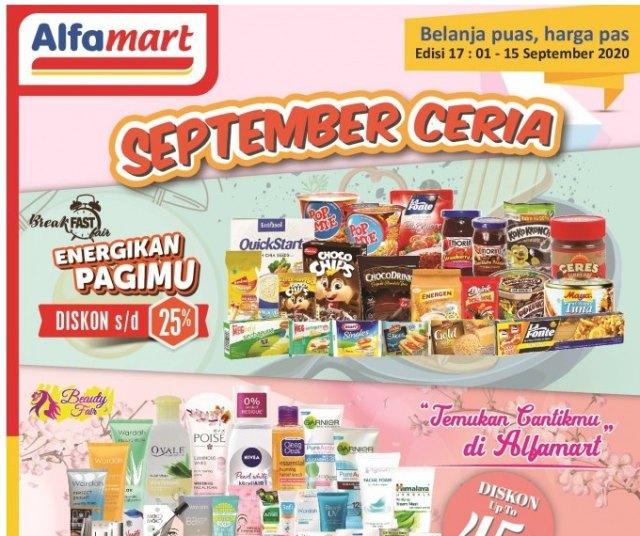 3 Katalog yang Jadi Incaran Saat Promo Alfamart Bulan September (38662)