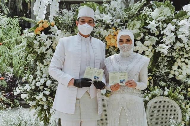 5 Potret Pernikahan Kakak Ipar Kahiyang Ayu, Jokowi Jadi Saksi Nikah (375731)
