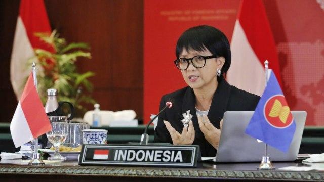 Menlu Retno: ASEAN-AS Harus Kerja Sama untuk Ketahanan Kesehatan (23118)