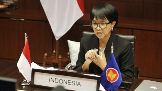Menlu Retno di Pertemuan ASEAN: Perang Melawan COVID-19 Jauh dari Selesai (42823)