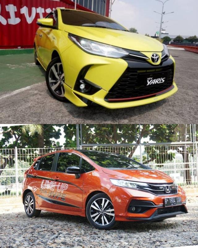 Toyota Yaris vs Honda Jazz, Siapa Lebih Unggul Soal Fitur? (63905)