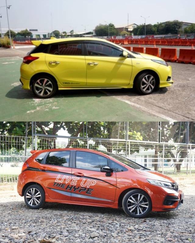 Toyota Yaris vs Honda Jazz, Siapa Lebih Unggul Soal Fitur? (63906)