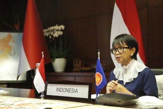Menlu di Pertemuan ASEAN-AS: Vaksin adalah Harapan Masyarakat (139261)