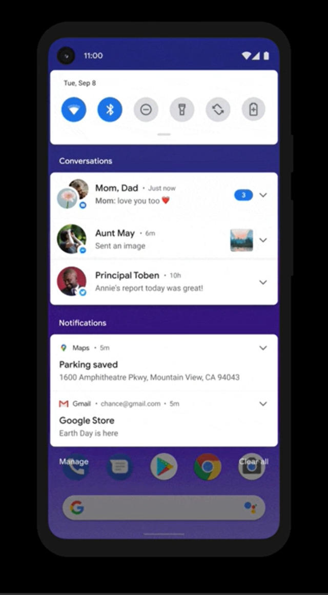 11 Fitur Baru Terbaik Android 11: Menu Tombol Power hingga Notifikasi Makin Rapi (298149)