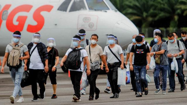 41 TKA China Kembali Masuk ke Aceh (162761)
