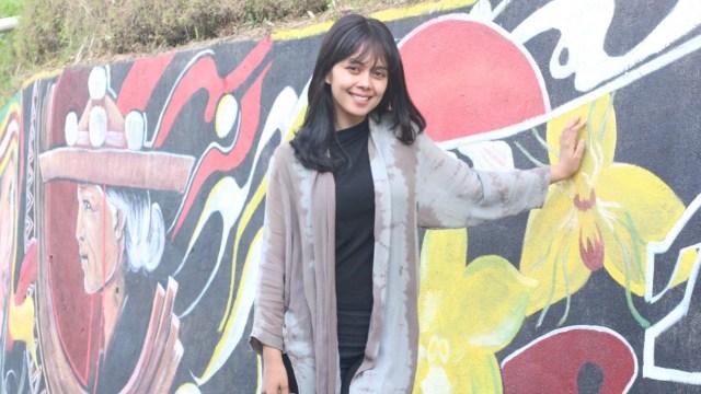 Lukisan Mural Hiasi Desa Wisata Tondok Bakaru Di Mamasa Sulbar Kumparan Com