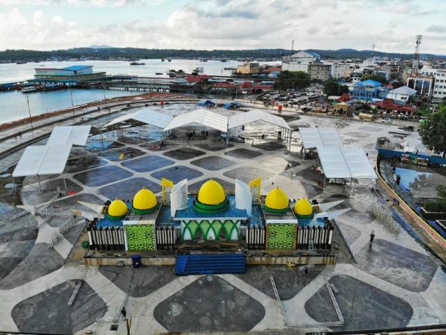 Foto: Melihat Astaka MTQ ke-VIII Provinsi Kepri (339186)