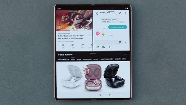 Mengenal Fitur Canggih Drag and Drop di Samsung Galaxy Z Fold2 (205980)