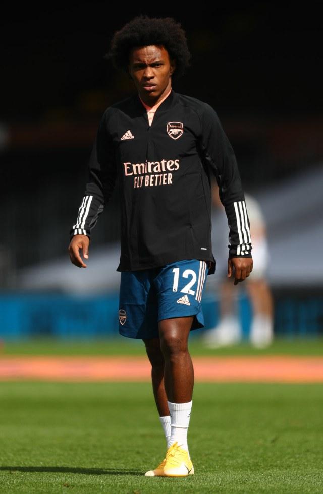 Debut Willian Bersama Arsenal: Bikin Dua Assist (316088)