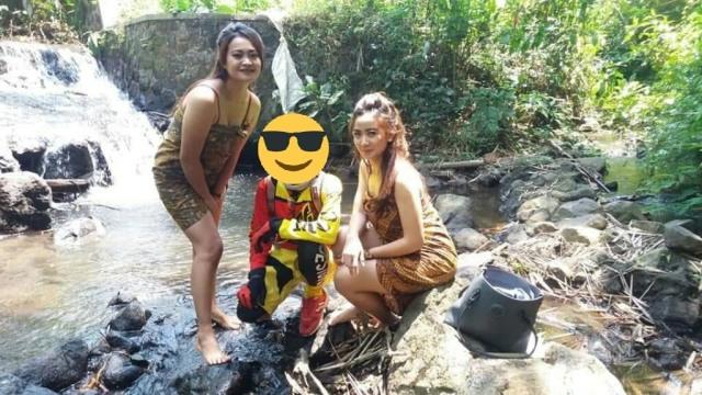 Heboh Jalur Gowes Gadis Desa di Malang, Ternyata Oknum 'Ngamen' (33713)
