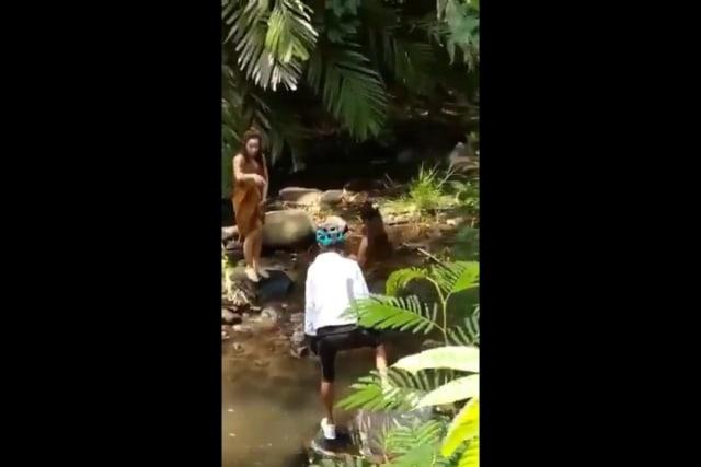 Heboh Jalur Gowes Gadis Desa di Malang, Ternyata Oknum 'Ngamen' (33714)