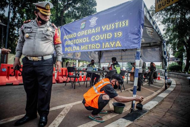 Operasi Yustisi Digelar di Jakbar, Sasarannya Kantor dan Penggunaan Masker (242897)