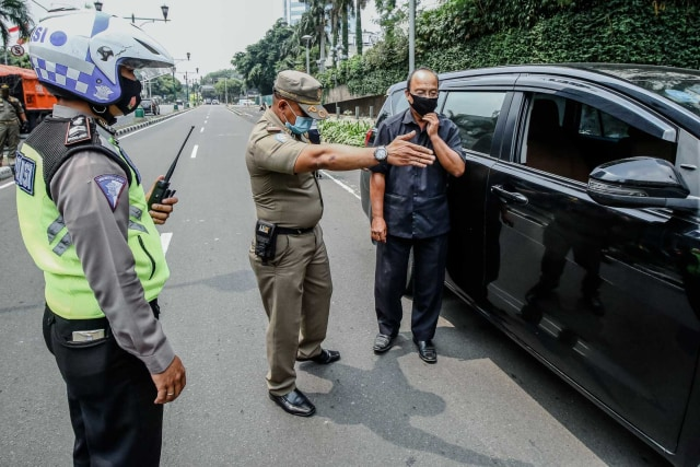 Berita Populer: Aturan Baru Bermotor PSBB Jakarta II, Warna Anyar Yamaha X-Ride (181771)