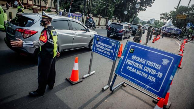 Simak Aturan Berkendara Sepeda Motor Selama PSBB Ketat di Jakarta (764025)