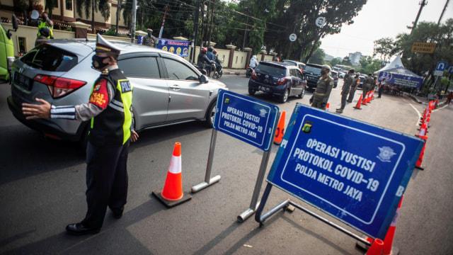 Dua Hari Operasi Yustisi: 9.734 Orang Langgar PSBB, Denda Capai Rp 88 Juta (237105)