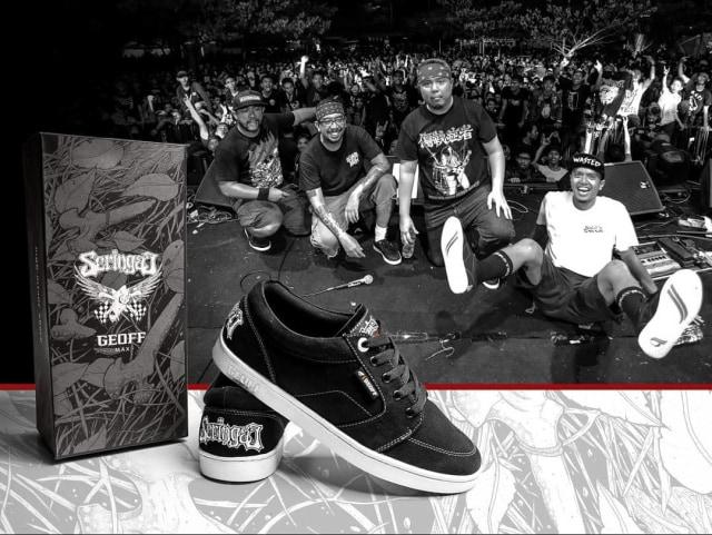 Brand Lokal yang Pernah Kolaborasi Sneakers sama Band (32882)