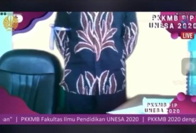 Viral Ospek Unesa Secara Online Dibentak Senior via Zoom: Ikat Pinggang Mana! (388657)
