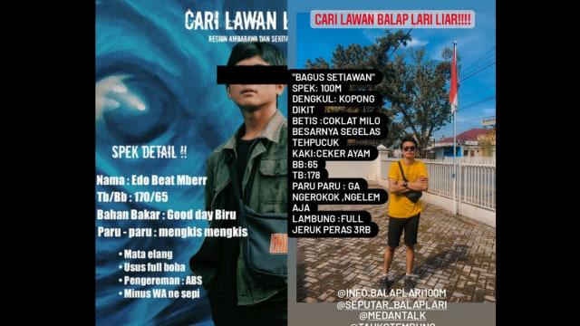 Profil dan Spek Para Pebalap Lari Liar: Dengkul Kopong, Bensinnya Boba (115787)
