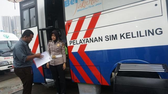 Lokasi SIM Keliling Bandung, Rabu 16 September 2020 (354715)