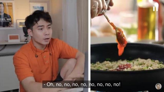 YouTuber Uncle Roger Kritik Cara Jamie Oliver Memasak Nasi Goreng Telur (650045)