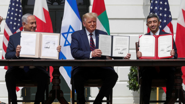 Bahrain, UEA, dan Israel Teken Perjanjian Damai di Gedung Putih, Dipandu Trump (89469)