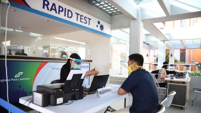 Rapid Test di Bandara Ngurah Rai, Bali, Turun Harga Jadi Rp85 Ribu (73707)