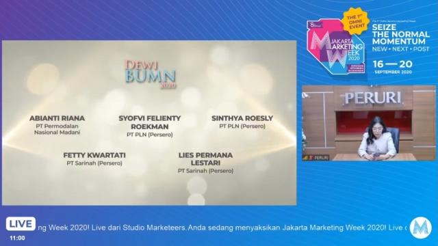 PLN Raih 3 Penghargaan di Ajang BUMN Marketeers Award 2020 (315615)