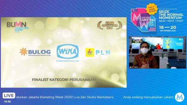 PLN Raih 3 Penghargaan di Ajang BUMN Marketeers Award 2020 (315616)