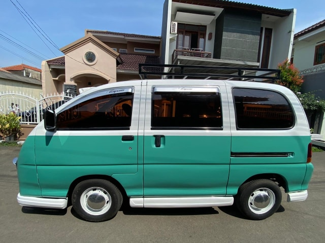 Foto: Kerennya Tampilan Daihatsu Espass yang Disulap Jadi VW Kombi (154723)