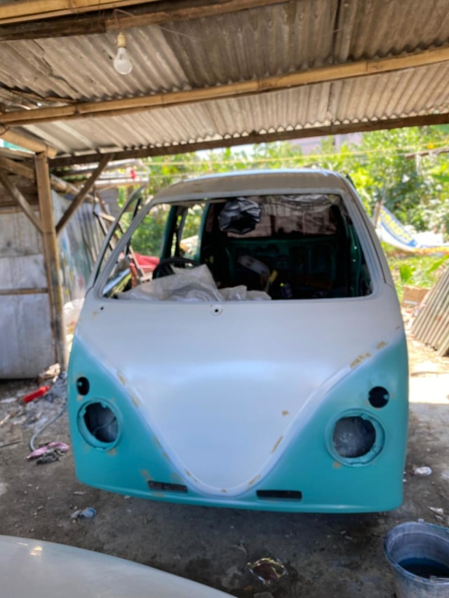 Foto: Kerennya Tampilan Daihatsu Espass yang Disulap Jadi VW Kombi (34082)