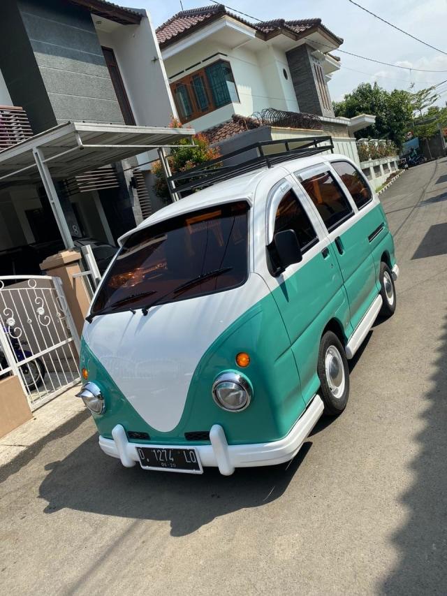Foto: Kerennya Tampilan Daihatsu Espass yang Disulap Jadi VW Kombi (34083)