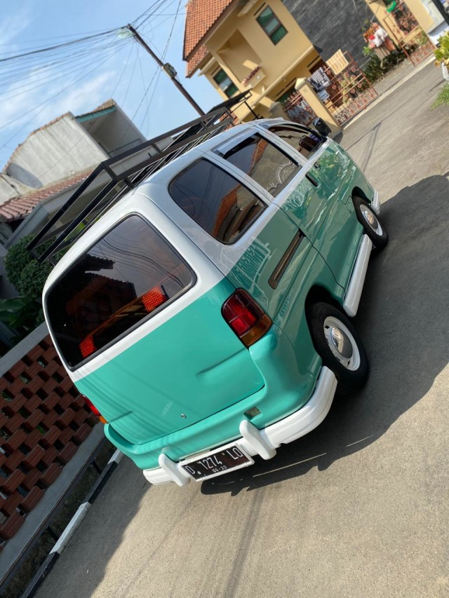 Foto: Kerennya Tampilan Daihatsu Espass yang Disulap Jadi VW Kombi (154725)