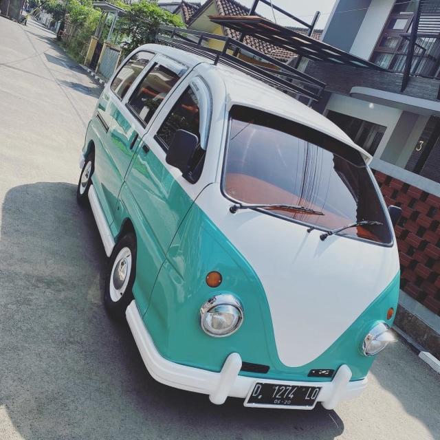 Foto: Kerennya Tampilan Daihatsu Espass yang Disulap Jadi VW Kombi (154713)