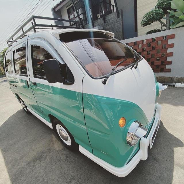 Foto: Kerennya Tampilan Daihatsu Espass yang Disulap Jadi VW Kombi (34078)