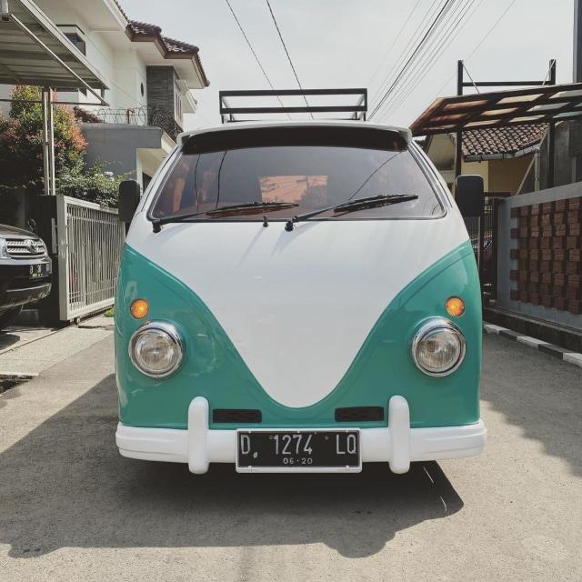 Foto: Kerennya Tampilan Daihatsu Espass yang Disulap Jadi VW Kombi (34075)