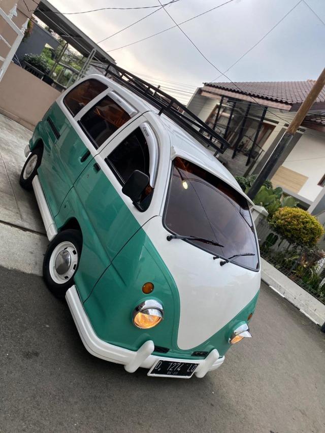 Foto: Kerennya Tampilan Daihatsu Espass yang Disulap Jadi VW Kombi (34079)