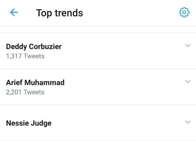Deddy Corbuzier, Arief Muhammad, & Nessie Judge Jadi Top Konten Pilihan Netizen (303364)