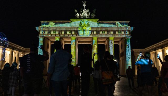 Foto: Indahnya Festival Cahaya di Berlin  (51614)