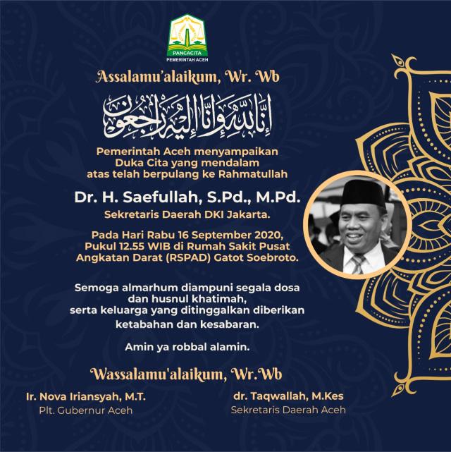 Update Corona di Aceh 16 September: 3.126 Positif, 776 Sembuh, 115 Meninggal (1022380)