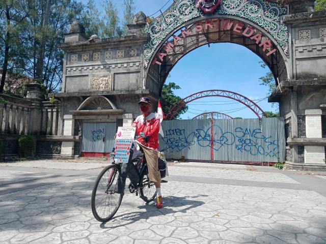 Kisah Agus Hadikarta, Bersepeda dari Bandung-Solo dan Sosialisasikan Donor Darah (212272)