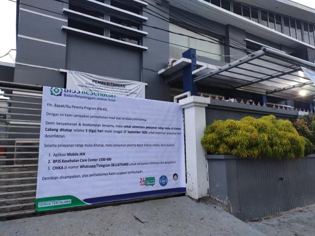 Pegawai Positif Corona, BPJS Kes Pangkalpinang Hentikan Layanan Tatap Muka (59395)