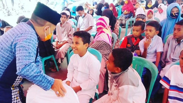 MHB-GAS Lebaran Bersama Ratusan Anak Yatim di Kota Ternate (595911)