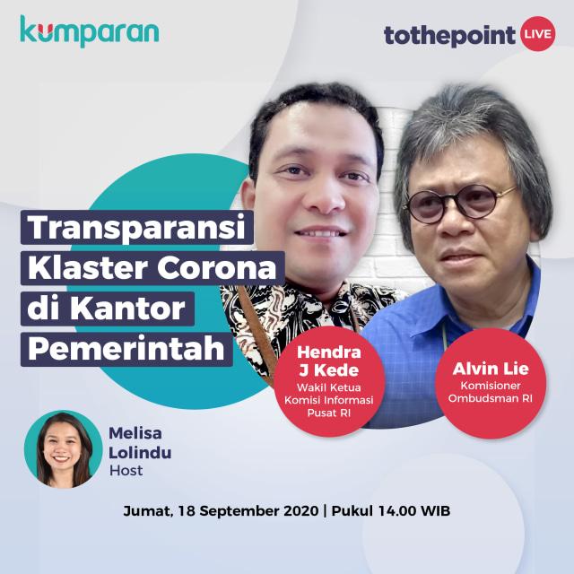 To The Point: Transparansi Klaster Corona di Kantor Pemerintah (418866)