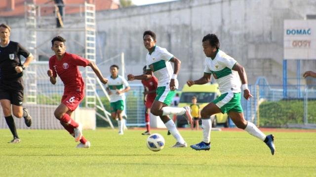 Timnas U-19 vs Qatar: Garuda Muda Ditahan Imbang (85908)