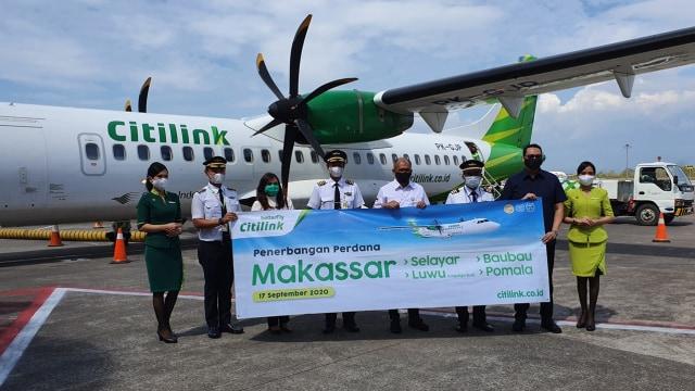 Citilink Buka Empat Rute Penerbangan Baru di Sulawesi (51508)