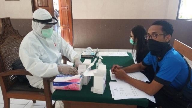 Hasil Swab di PN Denpasar: 10 Orang Rapid Test Reaktif Negatif COVID-19 (40806)