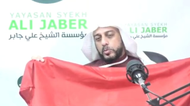 Syekh Ali Jaber ke Penusuknya: Semoga Kembali Sehat, Lekas Sembuh (34542)